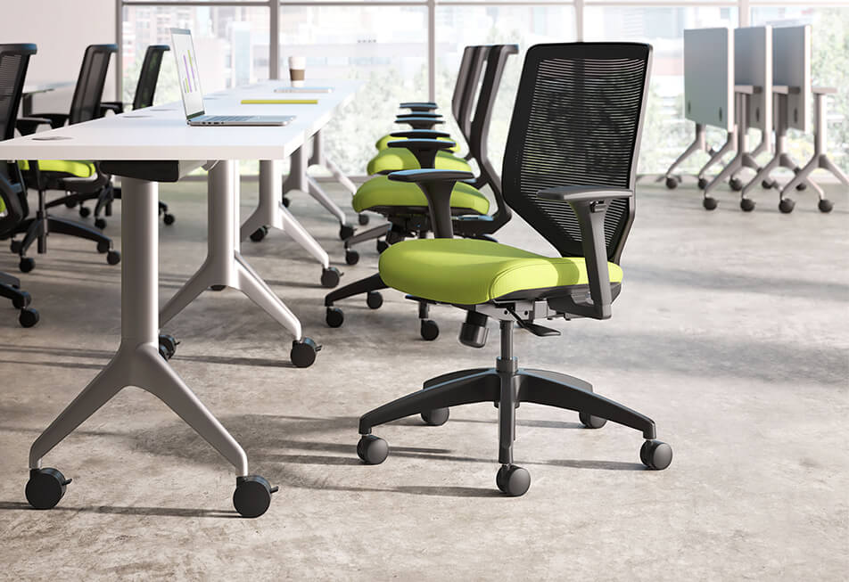 HON Solve Chairs Motivate Seating