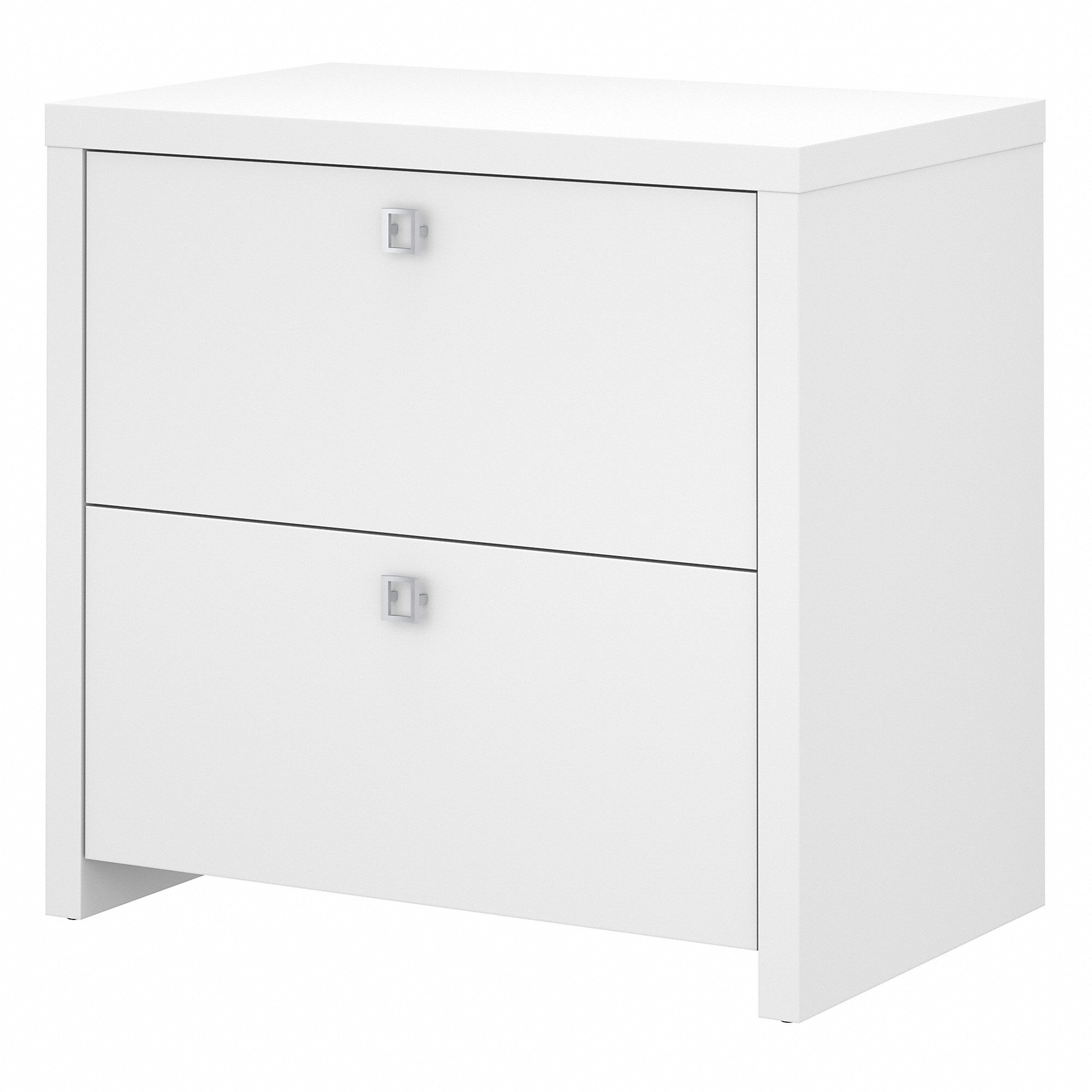 Office by kathy ireland® Echo Lateral File Cabinet | Pure White