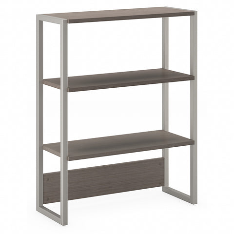 Office by kathy ireland® Method Bookcase Hutch | Cocoa