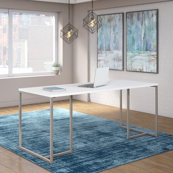 Office by kathy ireland® Method 72W Table Desk | White