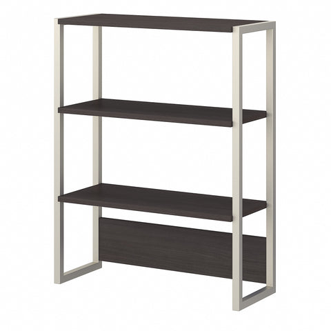 Office by kathy ireland® Method Bookcase Hutch | Storm Gray