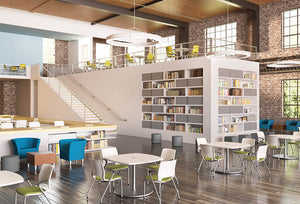 HON Library Motivate Arrange Cafeteria & Lounge