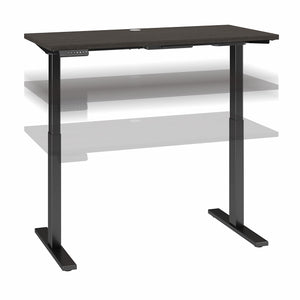Bush Business Furniture Move 60 Series 48W x 24D Height Adjustable Standing Desk| Mocha Cherry