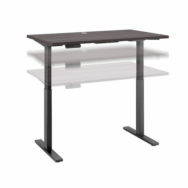 Bush Business Furniture Move 60 Series 48W x 30D Height Adjustable Standing Desk| Platinum Gray