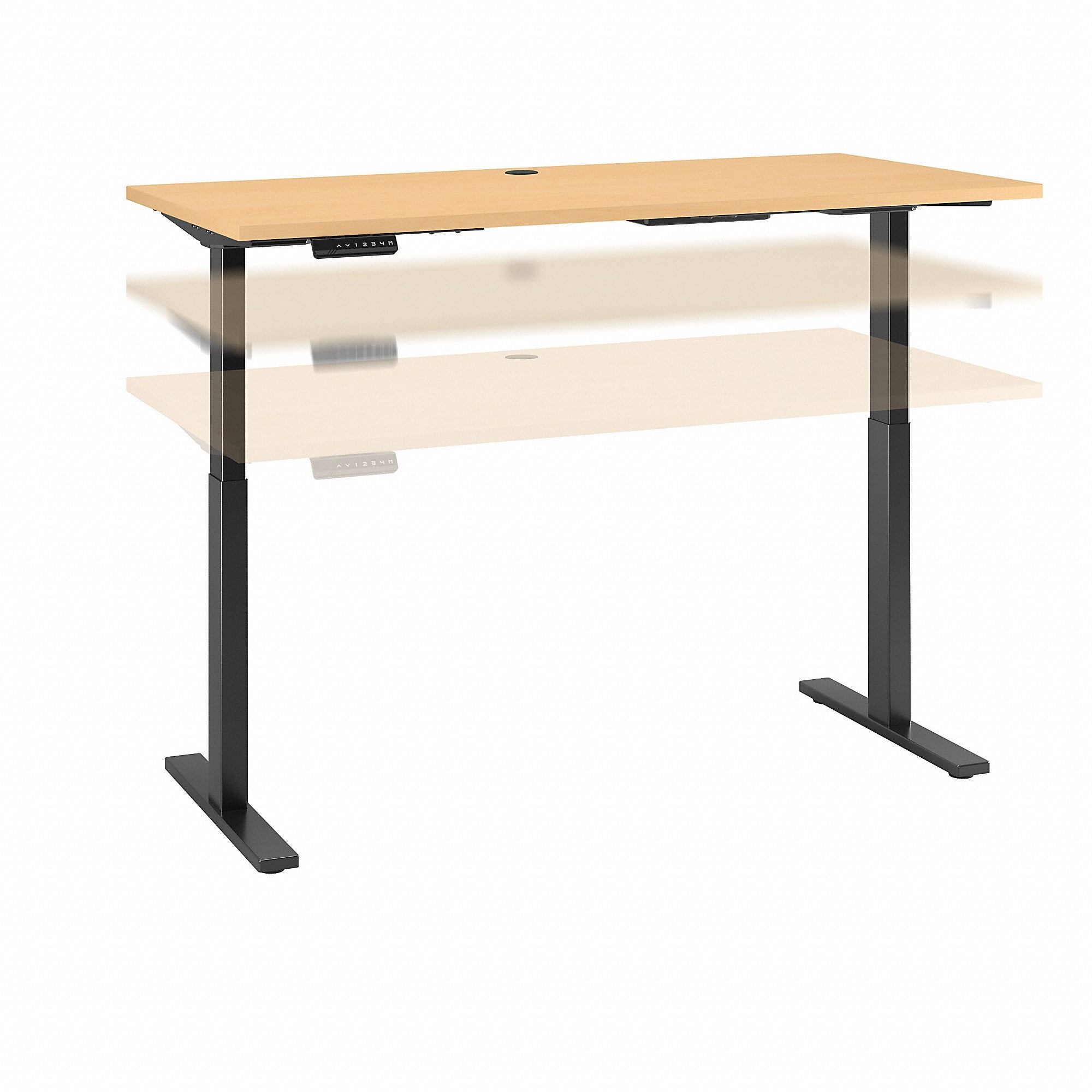 Bush Business Furniture Move 60 Series 48W x 30D Height Adjustable Standing Desk| White