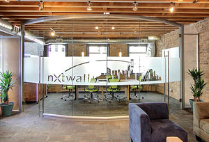 NXTWALL View Series Conference 1 Room Glass Office