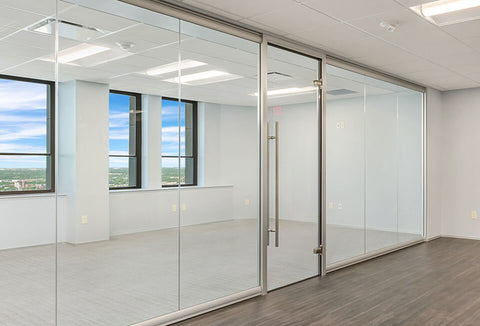 NXTWALL View Series Interior Glass Walls Glass Office