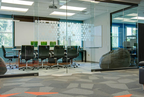 NXTWALL View Series Conference Room 2 Glass Office