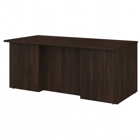 Bush Business Furniture Office 500 72W x 36D Executive Desk | Black Walnut