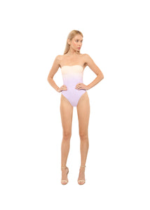 Bandeau One-Piece Swimsuit