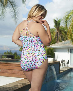 Chevron Back One-Piece Adjustable Straps Prism
