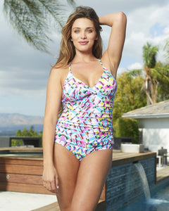 Strappy Back One-Piece Prism
