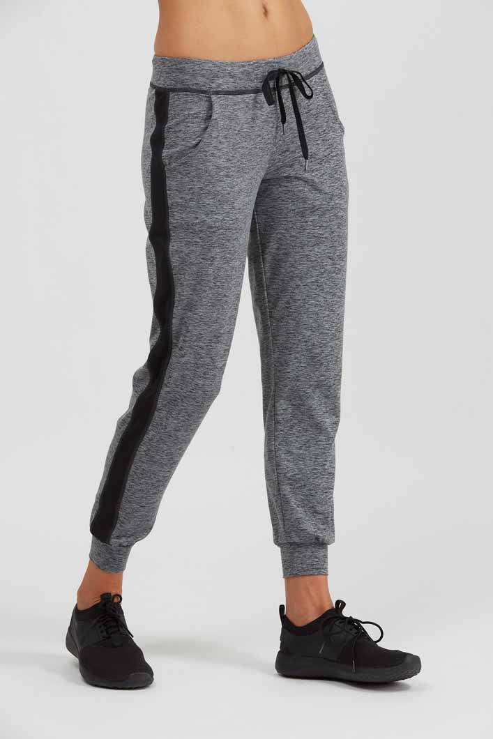 Prismsport Urban Track Pant - Storm Heather