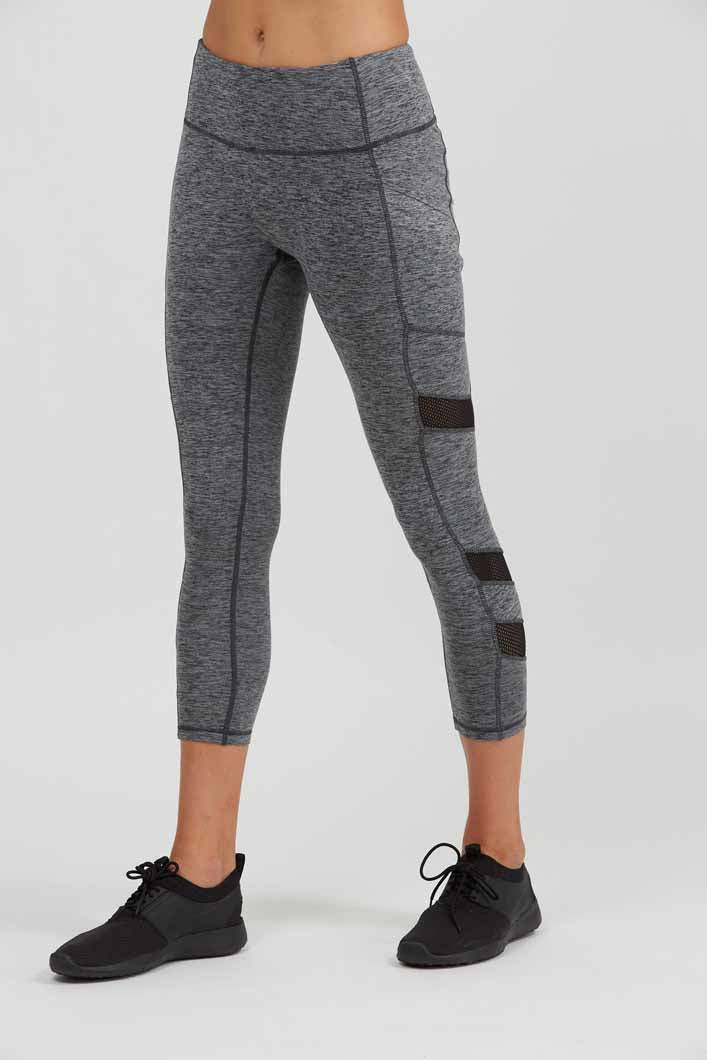 Prismsport Relay 7/8 Legging- Storm Heather