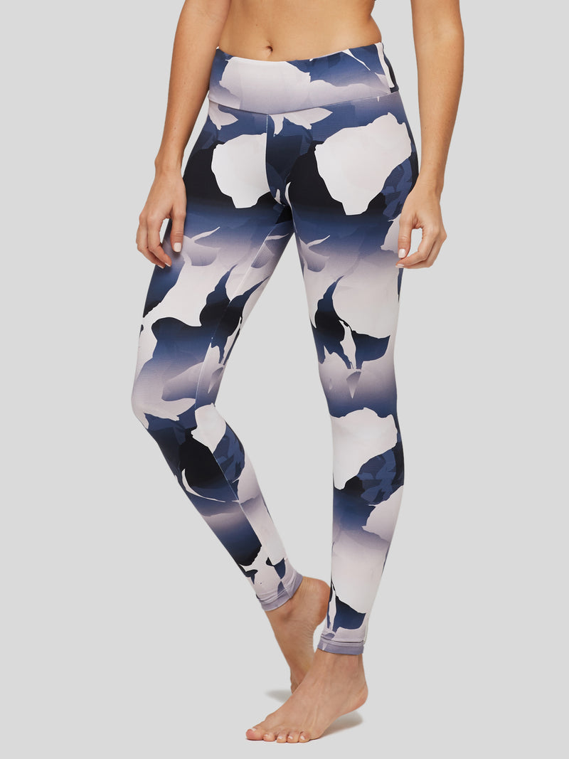 Peony and Me Tie Dye Camo Floral Legging