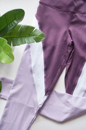 925 Fit Wine Not Legging - Eggplant