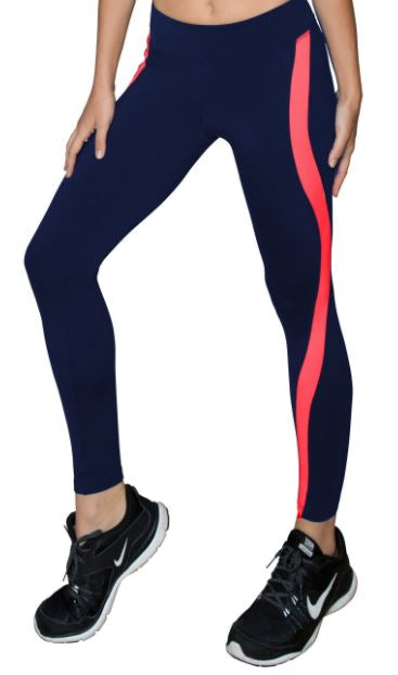 925 Fit Pur'sistence Legging- Navy