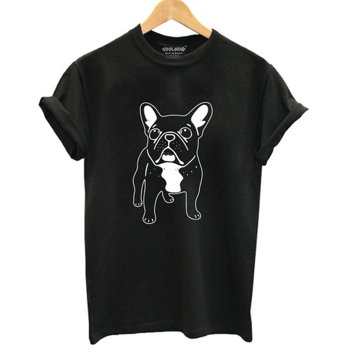 French Bull Dog T-Shirt For Women