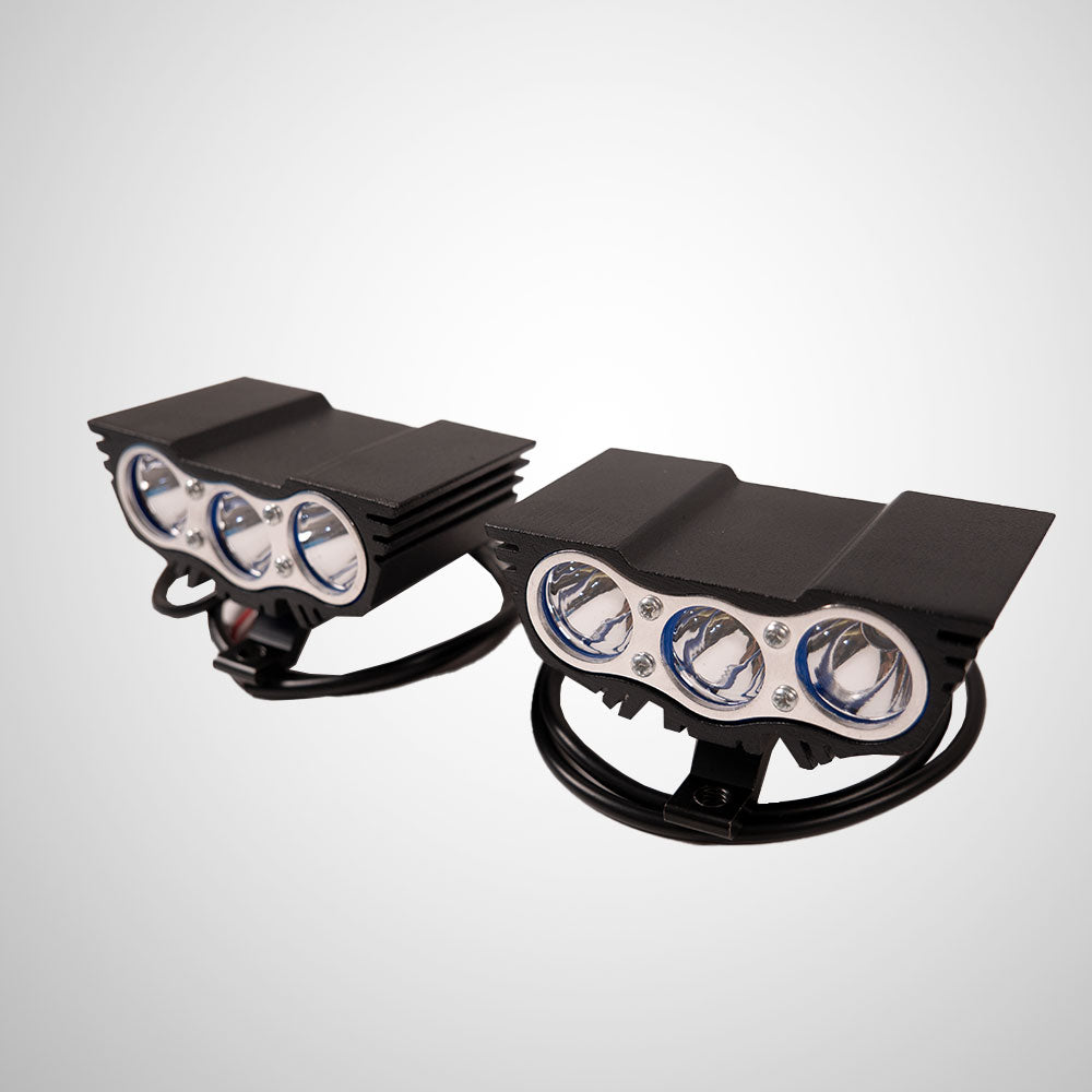 HJG LED 18W Lamp For Motorcycle with on / off switch