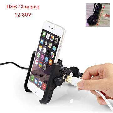 MOTOWOLF MOBILE CHARGER CUM PHONE HOLDER