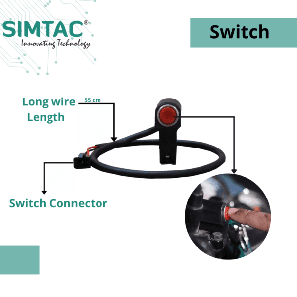 Aluminium Alloy Motorcycle Phone Holder For Smart Phone