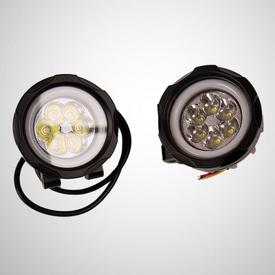 HJG LED 40W Lamp For Motorcycle with on / off switch