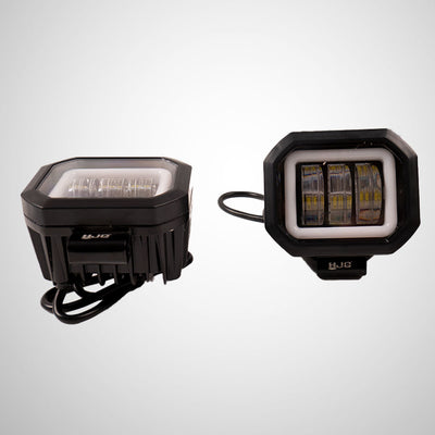 HJG LED 60W LAMP FOR MOTORCYCLE WITH ON / OFF SWITCH
