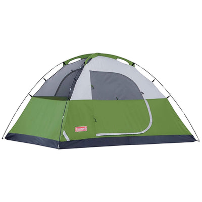 Coleman Sundome 4-Person Tent, 9 feet x 7 feet (Green)