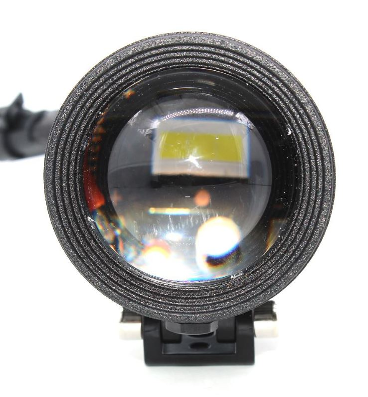 HJG KZ30 Adjustable Lens Fog Light (PAIR) With WIRING HARNESS