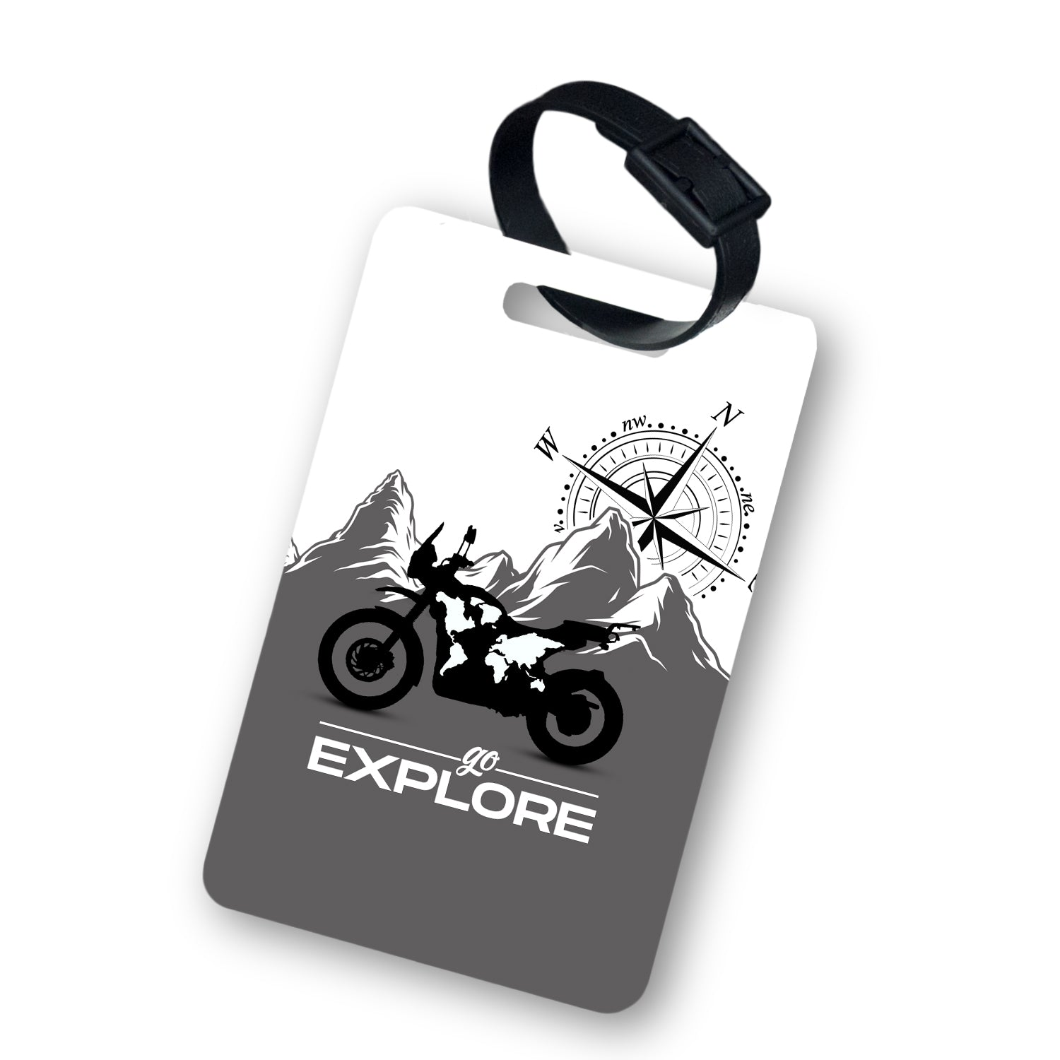 Go Explore Luggage Tag with Belt 2pcs
