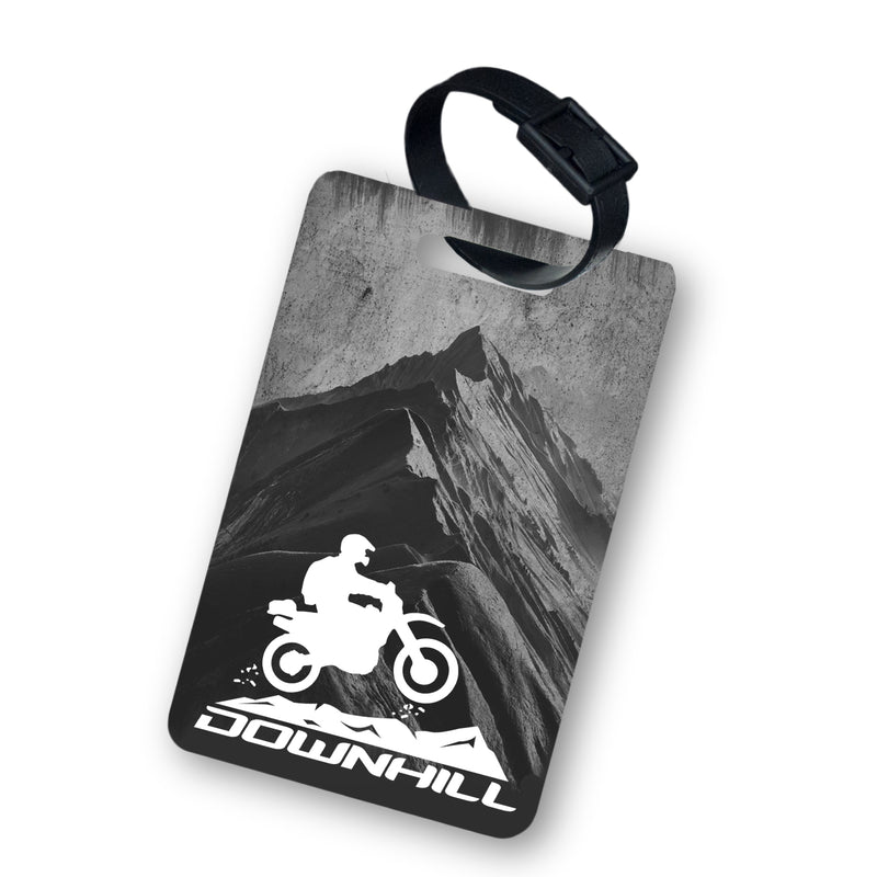 DownHill Luggage Tag with Belt 2pcs