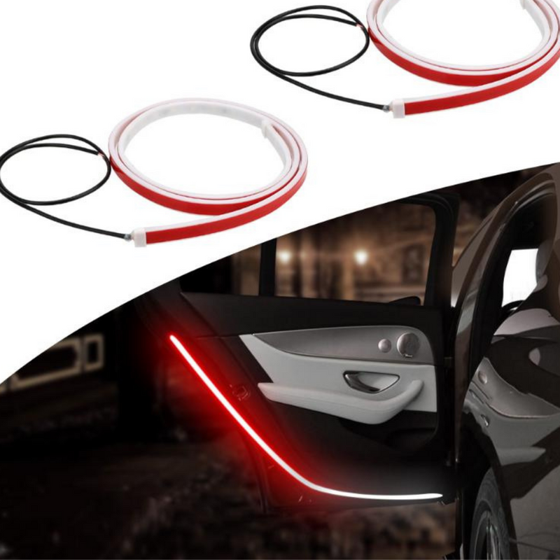 Car Door Warning LED Lights Flow Lights Strip for Car Door Accessories