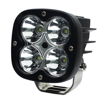 HJG LED 60W Lamp For Motorcycle (2 Pcs) With WIRING HARNESS