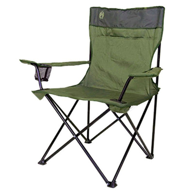 Coleman Standard Quad Chair (Green)