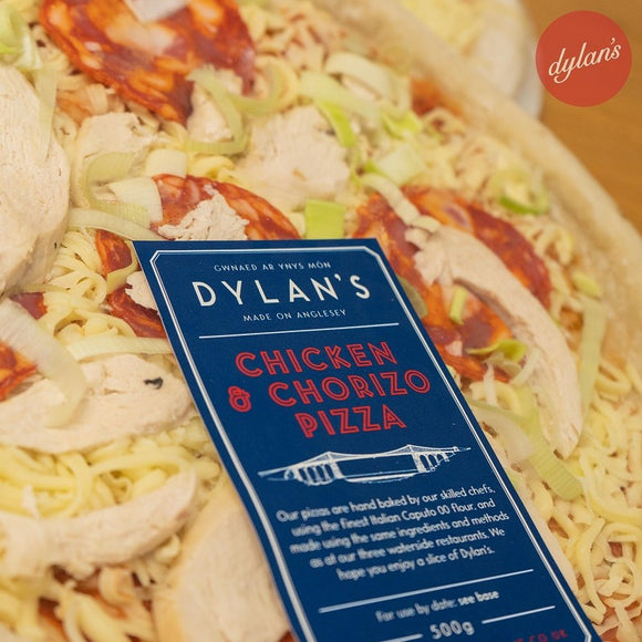 Dylan's Chicken & Chorizo Pizza [Click & Collect]