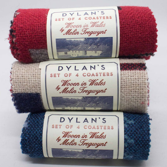 Welsh Blanket Coasters