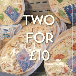 Dylan's Pizza Special: Two For £10 [Click & Collect - Menai Bridge]