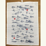 Pack of Two Tea Towels