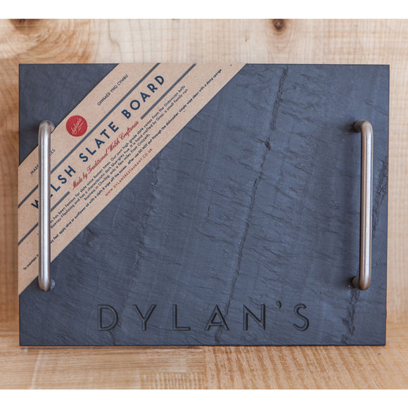 Welsh Slate Board (Square with Handles)