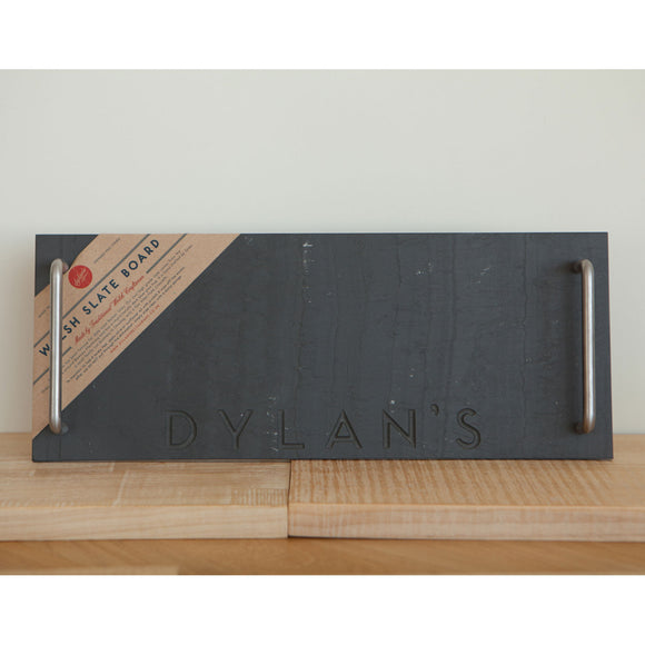 Welsh Slate Board (Rectangular with Handles)