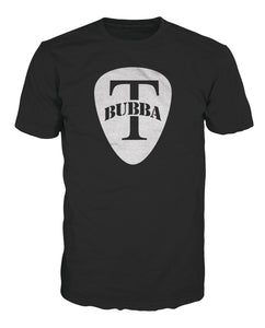 BUBBA T MEN GUITAR PICK TEE