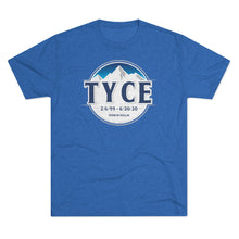 Load image into Gallery viewer, Tyce Light Tri-Blend Crew Tee