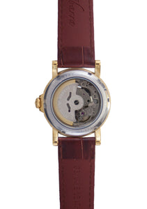 Mariano (Gold Case, White Face and Brown Leather Strap)
