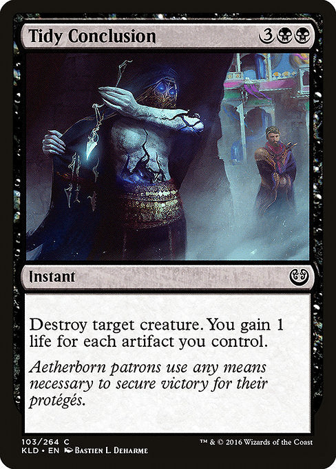 Tidy Conclusion [Kaladesh]