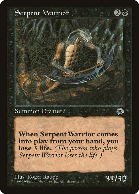 Serpent Warrior [Portal]