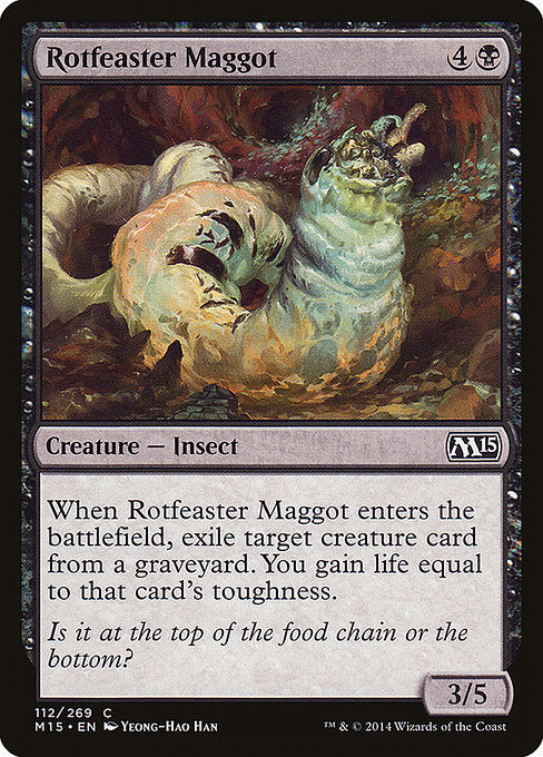 Rotfeaster Maggot [Magic 2015]