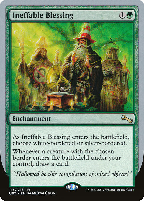 Ineffable Blessing [Unstable]