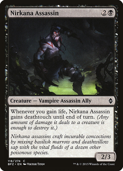 Nirkana Assassin [Battle for Zendikar]