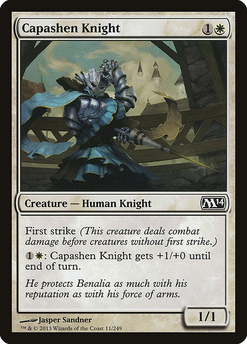 Capashen Knight [Magic 2014]