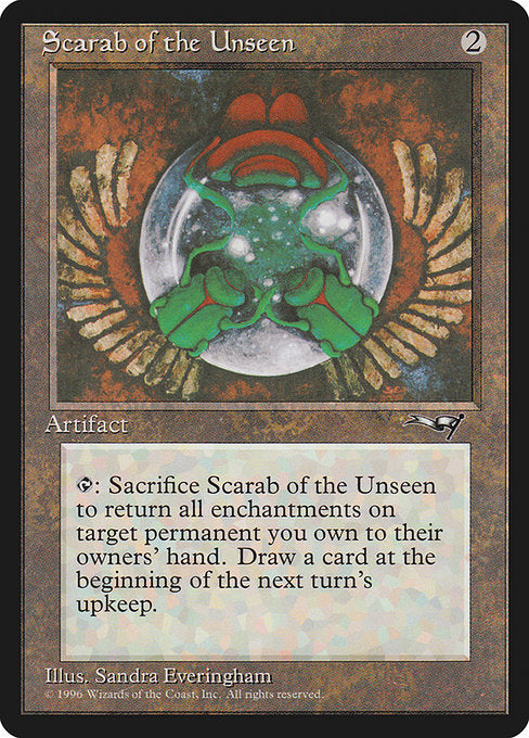 Scarab of the Unseen [Alliances]